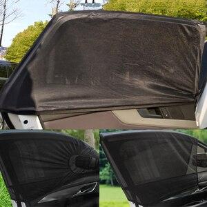 Image 4 - Universal Car Sunshades Curtain Accessories Auto Accessorie Home Decoration Dashboard Pendant Summer Sunscreen