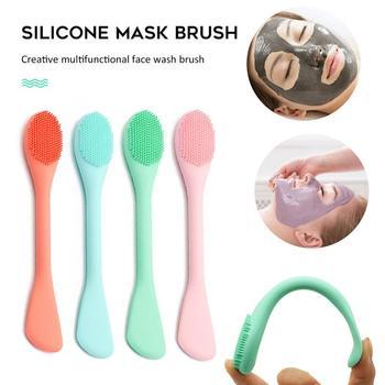 Miękkiego silikonu zmywacz do mycia twarzy złuszczający do oczyszczania porów szczotka miękki nos szczotka do oczyszczania porów masażer do pielęgnacji twarzy piękno TXTB1 tanie i dobre opinie VIBRANT GLAMOUR Twarzy mydło Unisex Facial Cleansing Brush Brak CHINA Czyszczenia twarzy Face Washing Brush