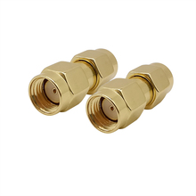 Rf-Coaxial-Connector Antennas Male-Plug Rp Sma -Adapter for FPV Audio-Radio 1pcs Without-Pin