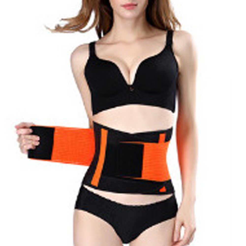 슬리밍 벨트 파워 써모 바디 셰이퍼 허리 트레이너 트리머 코르셋 허리 벨트 cincher 랩 운동 shapewear fitness