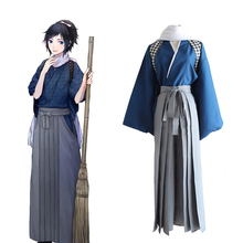 Game Touken Ranbu Cosplay Costumes Yamatonokami Yasusada Cosplay Costume Kimono Halloween Carnival Party Anime Cosplay Costumes цена 2017
