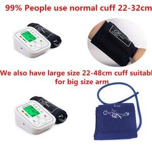 Image 2 - Saint Health Met Engels Voice & Backlight Draagbare LCD digitale Bovenarm Bloeddrukmeter Kleur screen Automatische Tonometer Pulsemeter