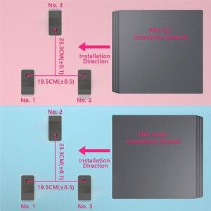 Image 4 - Duvar montaj braketi PlayStation 4 için PS4 Slim Pro oyun konsolu duvar standı depolama Anti skid darbeye dayanıklı koruma konsolu tutucu