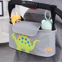 Carrinho de bebê dos desenhos animados saco organizador para carrinho de criança acessórios carrinho de bebê carrinho de criança para carrinho de bebê organizador sacos de viagem para yoya