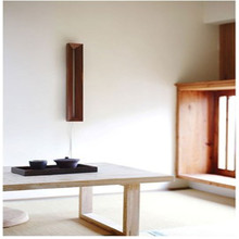 Modern New Chinese Wall Lamp Simple Atmosphere Living Room Corridor Apartment Bedside Nordic Hotel Personality Wooden Wall