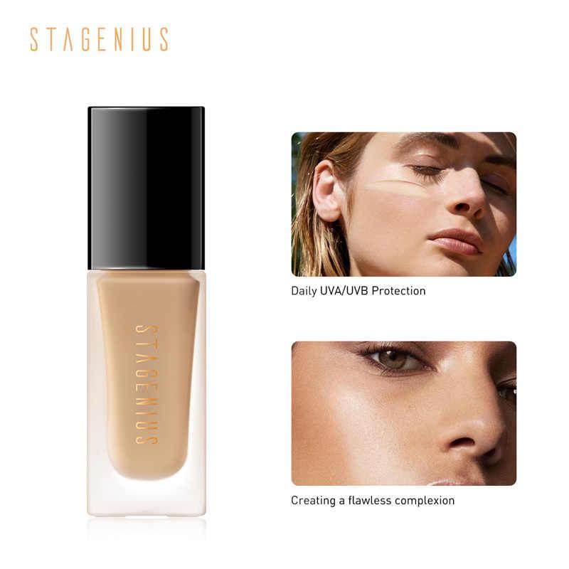 STAGENIUS Gesicht Foundation Stick Make-Up Matte Vollständige Abdeckung Flüssigkeit Glatte Concealer Wasserdichte Basis Foundation