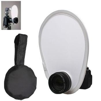 Fold 30cm Small On Camera Diffuser For Canon Nikon DSR Camera Speedlite