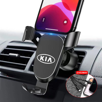 Car Mobile Phone Holder For kia k2 k3 k5 Sorento Sportage R Rio Soul accessories Car GPS Navigation Mobile Phone Holder Bracke image