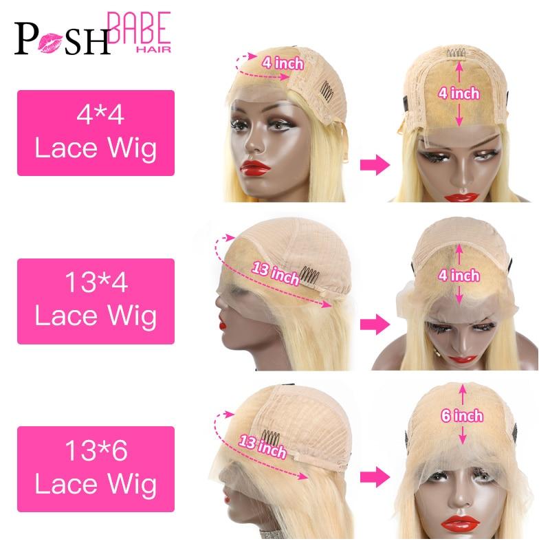 613 miód blond kolor Remy brazylijski prosto koronki przodu włosów ludzkich peruka 8 - 28 cal 1B 613 Ombre przednie peruki dla czarnych kobiet