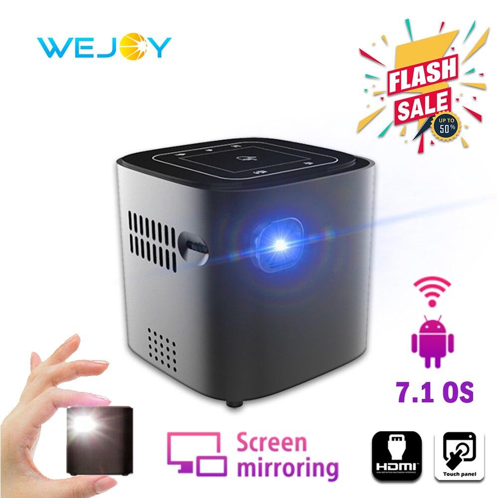 Wejoy Android DL-S12 Mini LED projecteur tactile DLP projecteur présentation données montrer Portable projecteur celulaire Full HD