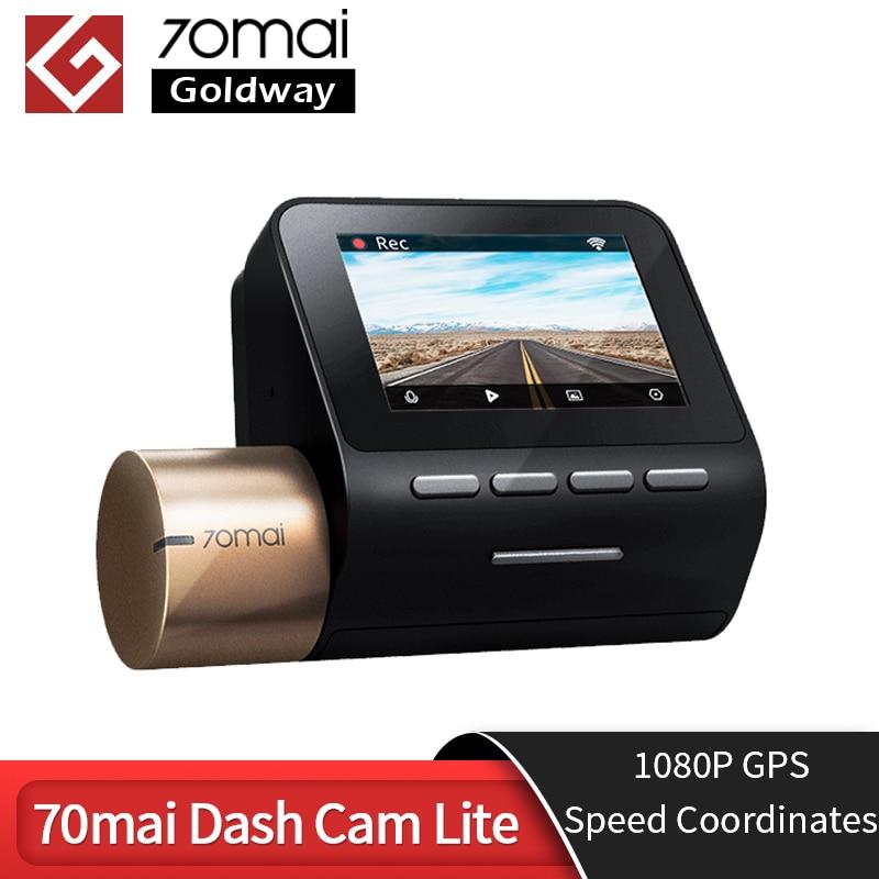 70mai Dash Cam Lite 1080P HD GPS Module 70mai Lite Kamera APP Control Fahren Recorder 130 FOV Nachtsicht 70 MAI WIFI Auto DVR