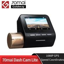 70mai Dash Cam Lite 1080P HD GPS Modules 70mai Lite Camera APP Control Driving Recorder 130 FOV Night Vision 70 MAI WIFI Car DVR
