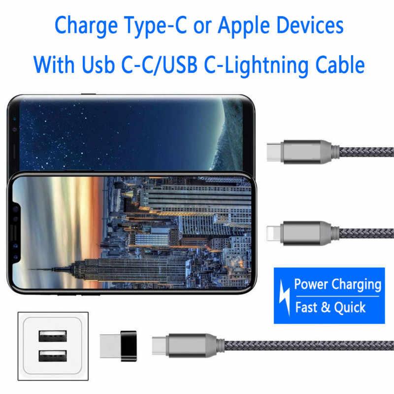 USB-C فلاش حملة Type-c USB 2.0 ذكر إلى Type-c أنثى محول محول محول الكمبيوتر الهاتف