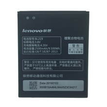 2pcs NEW Original 2500mAh bl219  battery for LENOVO High Quality Battery+Tracking Number