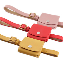 2020 New Yellow Black Red Pink Leather Waist Belt Bag Female Vintage Chest Bum Messenger Bags Fanny Pack for Women Bolsos Mujer