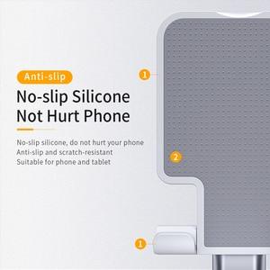 Image 5 - Essager Universal Adjustable Mobile Phone Holder Non Slip Mobile Phone Holder Desktop Metal Tablet Stand For iPhone iPad Xiaomi
