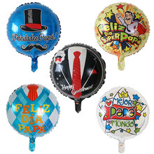 Balloons Party-Decorations Helium Feliz-Dia Air-Globos Happy-Father's-Day Baloes Spanish