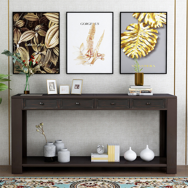 Console Side Entryway Sofa Table  1