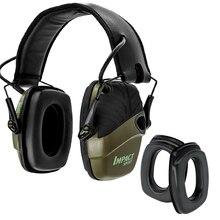 цены Tactical Electronic Shooting Earmuffs Anti-noise Hunting Headset Hearing Protection Headphones + Sightlines Sponge Ear pads