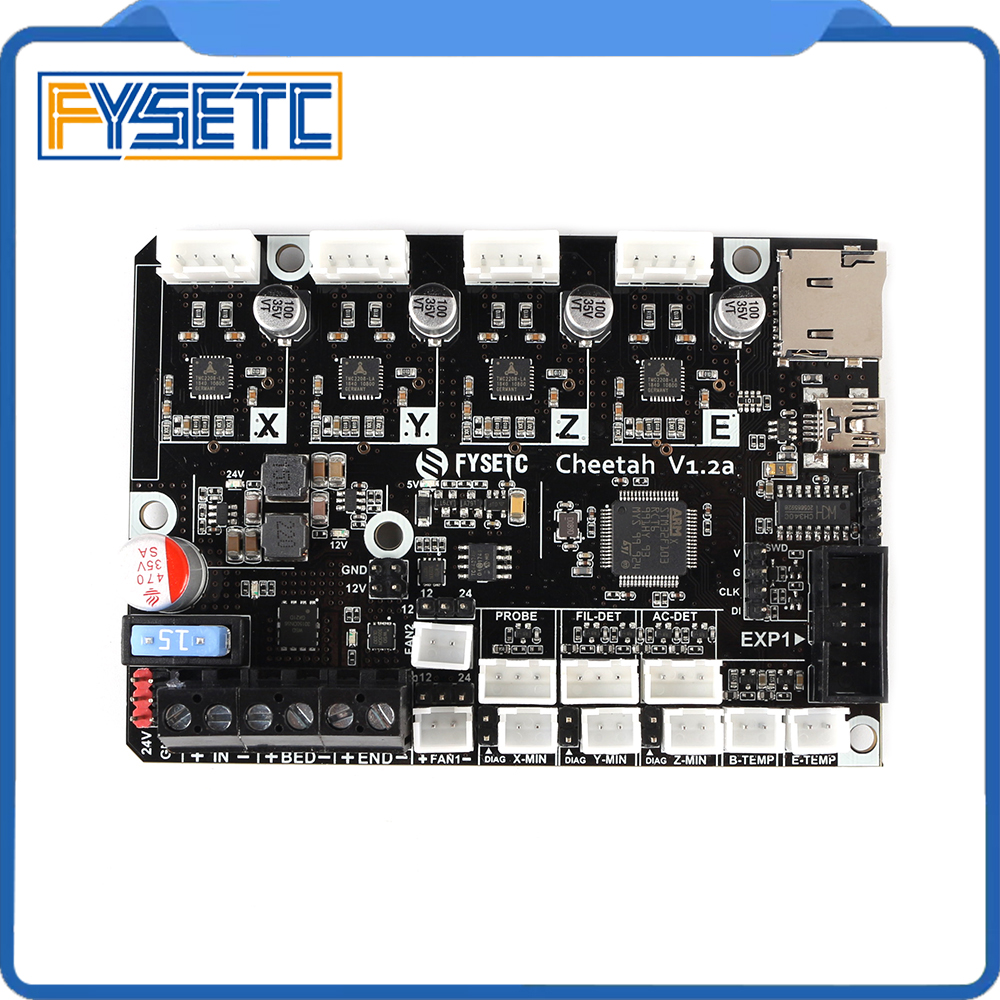 Cheetah V1 2b 32bit Board TMC2208 TMC2209 UART Silent Board Marlin 2 0 SKR mini E3 For CR10 Ender-3 Ender-3 Pro Ender-5