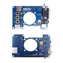 Terasic DE10 Nano אביזרי מיסטר FPGA IO לוח סט רכזת USB מאריך אנלוגי 62KA