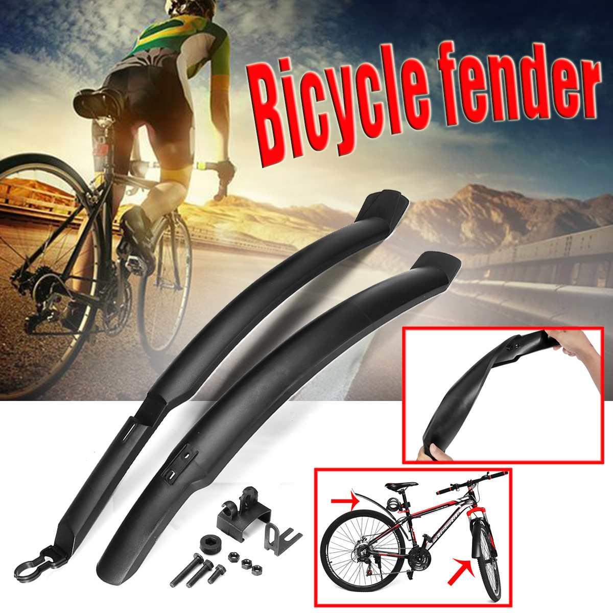 2 Bicycle F-enders Mountain Bike F-enders Set F-enders Bicycle F-ender Wing F-en