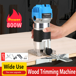 EU UK US Plug Woodworking Electric Trimmer Wood Milling Engraving Slotting Trimming Machine Carving Machine Router Wood