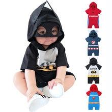 Одежда для маленьких мальчиков и девочек одежда с героями мультфильмов