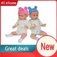 Muñeco de bebé de silicona suave y realista para niños y niñas, juguete de bebé de 22 pulgadas y 55cm