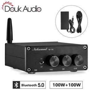Image 1 - Nobsound Mini TPA3116 Digital Audio Amplifier HiFi Bluetooth 5.0 Class D Stereo Power Amp 100W*2