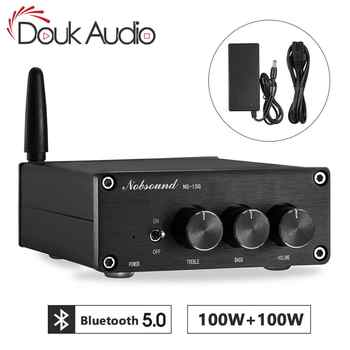 Nobsound Mini TPA3116 Digital Audio Amplifier HiFi Bluetooth 5.0 Class D Stereo Power Amp 100W*2 - DISCOUNT ITEM  20% OFF All Category