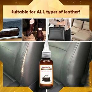 30ml Leather Repair Cream Waterproof Strong Liquid Super Glue Instant Dry Car Seat Repair Cream Sofa Leather Adhesive Glue