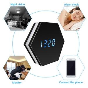 Image 2 - Hebeiros 2MP Batterij Wandklok IP WiFi Camera HD 1080P P2P Audio Nachtzicht Motion Detecion Smart Home CCTV monitor