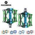 Велосипедные педали ROCKBROS MTB  велосипедные педали на платформе  велосипедные  магниевые  для спорта на открытом воздухе  разноцветные горные ...