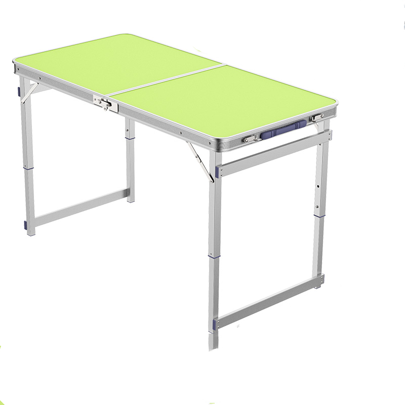 Setting Up Outdoor Folding Table Multi-function Portable Simple Small Table Aluminum Alloy