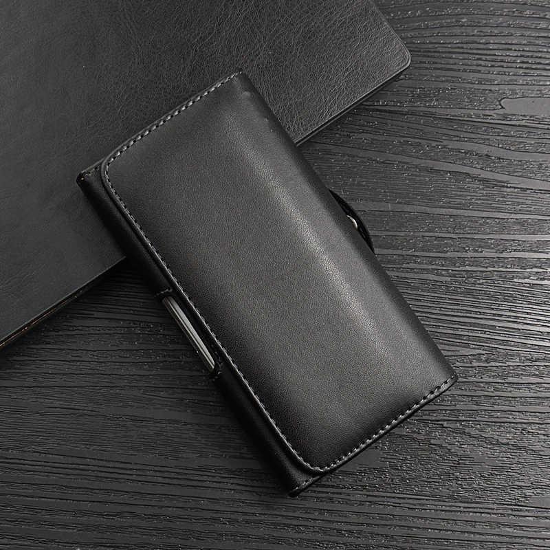 العالمي الهاتف حقيبة إطار مشبك حزام ل Oneplus 7 برو 6 6T كابا Etui حزام كليب الحافظة جلدية ل Oneplus 5 5T 3 الزجاج غطاء
