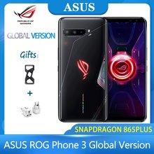 Новинка! ASUS ROG Phone 3 глобальная версия Snapdragon 865 плюс игровой телефон 6000 мА/ч, Батарея 8G/128G NFC 4G 5G смартфон