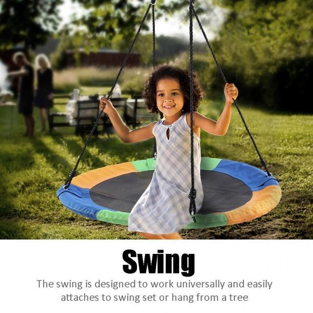 Outdoor Round Swing 100cm  6