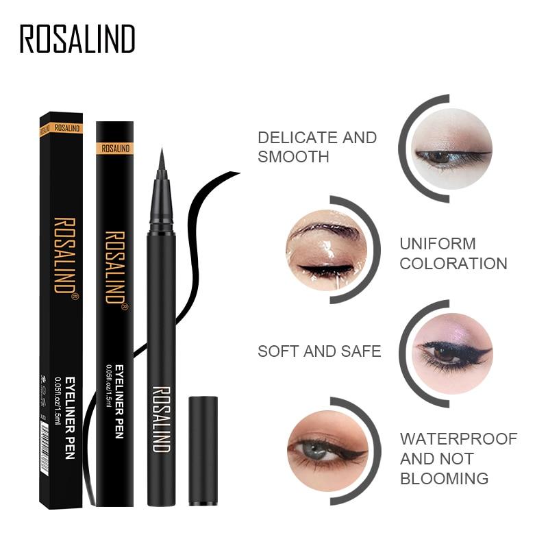 Professional Liquid Eyeliner Pen Makeup Black Waterproof Eye Liner Stamp Pencil Women Eyes Pen Cosmetics Gift For Girls TSLM2