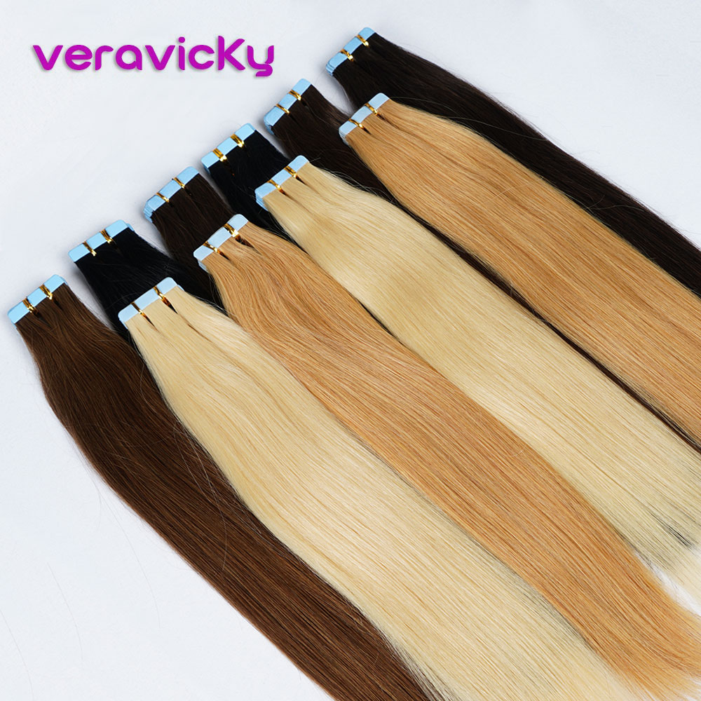 Skin Weft Tape In Human Hair Extensions14