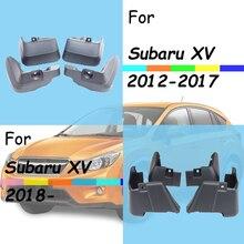 For Subaru XV mudguards subaru fenders mud flaps splash guards car accessories auto styling 2012-2018-