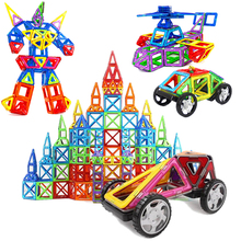 40 יח\סט מעצב מגנטי DIY אבני בניין בניית חלקי צעצועים לפעוטות מגנט דגם בניין ילד ילדה חג המולד Gi