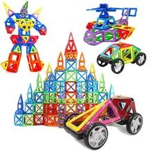 40pcs/set Designer Magnetic DIY Building Blocks Parts Construction Toys For Toddlers Magnet Model Building Boy girl Christmas Gi