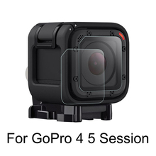 2PCS Tempered Glass Camera Lens Protector Film for GoPro Hero 4 Session Hero 5 Session Action Camera for Go Pro Accessory цена 2017