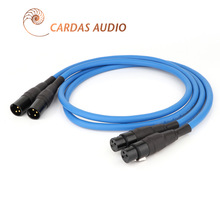 CARDAS Clear Light XLR Balanced Cable  3Pin XLR plug Amplifier CD DVD Player Interconnect Audio Cable