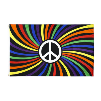 Johnin drapeau de paix arc-en-ciel | 90x150cm, LGBTQIA gay pride 1