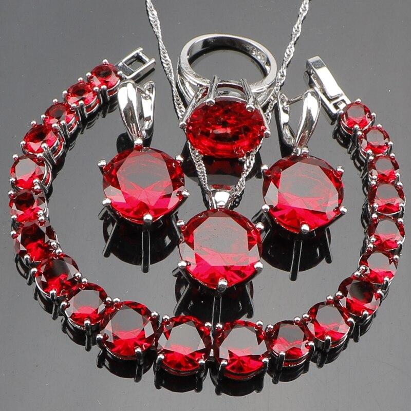 Купить набор свадебных украшений из серебра 925 пробы женские ювелирные