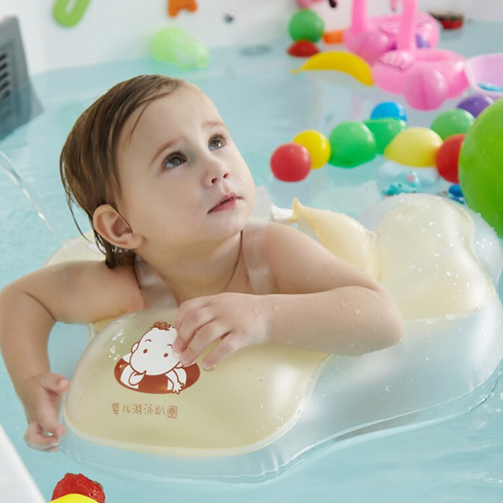 0-8T PVC Inflatable Swimming Ring Baby Bath Swim Circle Children's Arms Ring Swim Pool For Newborn Swimming Ring Arms Ring Seat