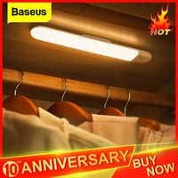 Baseus LED Schrank Licht PIR Motion Sensor Menschlichen Induktion Schrank Schrank Lampe Unter Schrank Nacht Licht Für Küche Schlafzimmer