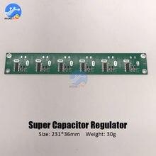 6 cuerdas 2,5 V-3V 360-700F tablero de protección de equilibrio Super condensador 2,5 V-3V 500F 400F 650F condensador equilibrado